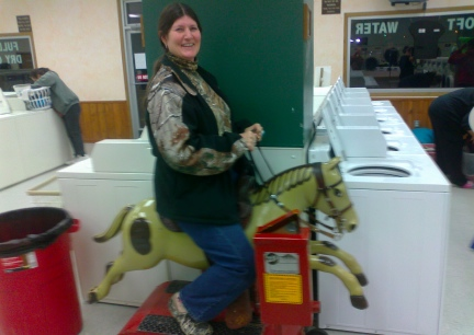 Marna Riding Mechanical Horse 2013-10-22
