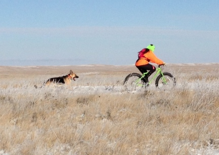 Marna with Tekoa Snow Ride 2014-11-14