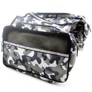 Black Camo Dog Backpack