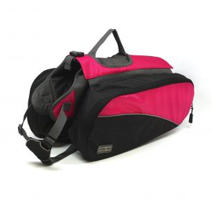 Pink Dog Backpack