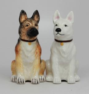 GSD Salt & Pepper Shakers