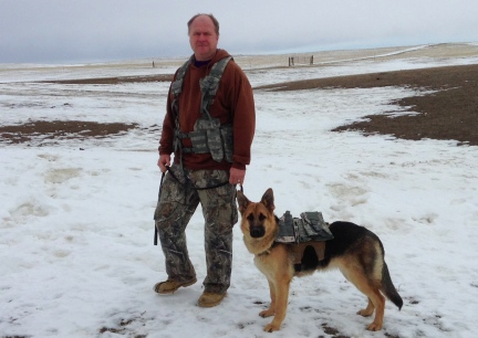 Deron with Tekoa in MOLLE Vests
