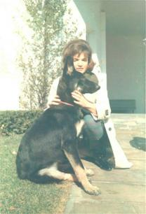 Jackie Kennedy with Clipper GSD