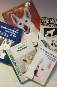 White German Shepherd Dog Books