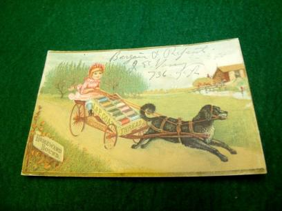 dog wagon advertisement